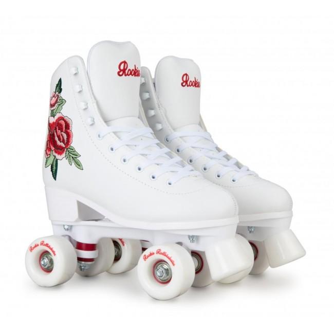 Rookie Rosa Quad Roller Skates White