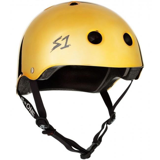 S1 Lifer Helmet Gold Mirror X Large