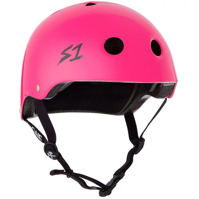 S1 Lifer Helmet Gloss Hot Pink