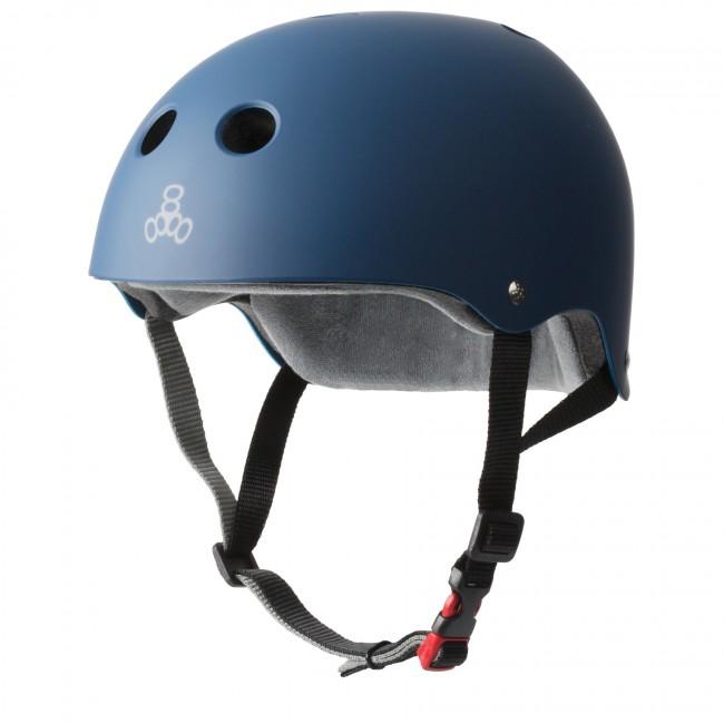 Triple 8 Sweatsaver Certified Navy Helmet L/XL