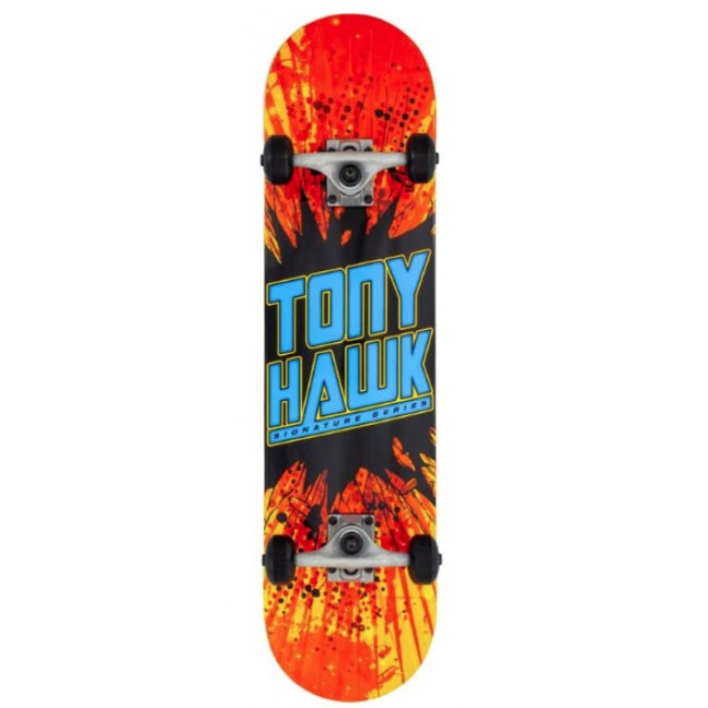 Tony Hawk 180 Series Shatter Logo Complete Skateboard 7.75