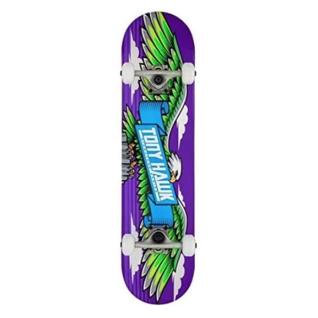 """Tony Hawk 180 Series Wingspan Complete Skateboard 7.75"""""""