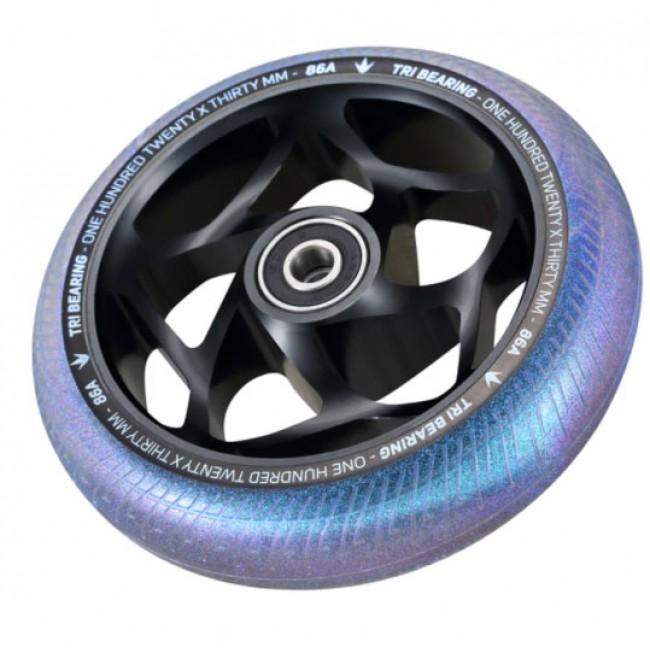 Blunt Tri Bearing Scoter Wheel Black/Galaxy 120mm x 30mm