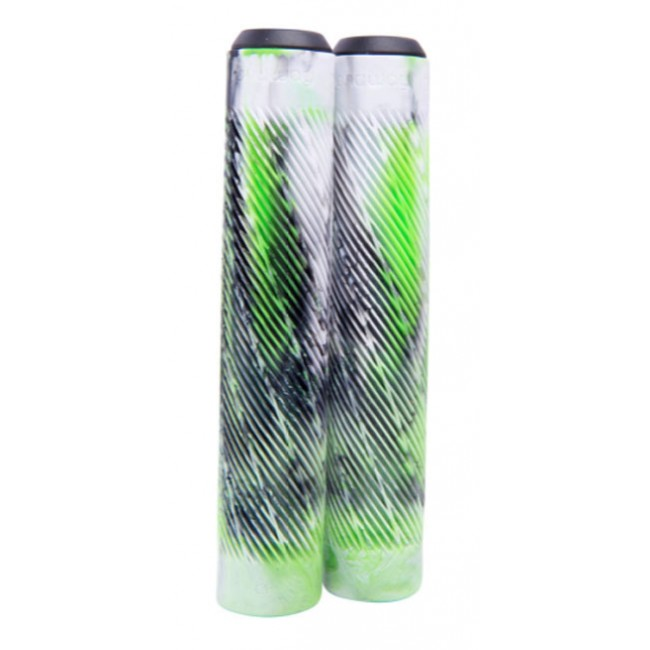 Longway Twister Scooter Grips Marble/Green
