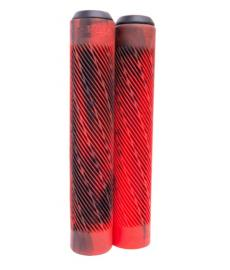 Longway Twister Scooter Grips Marble/Red