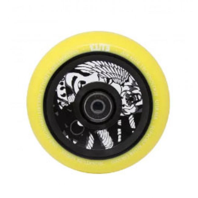 Elite X Supreme Air Ride Wheels Yellow/Black 110mm