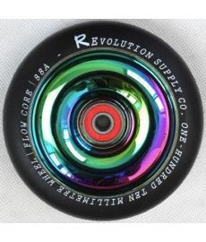 Revolution Neo Chrome Full Core Wheel Black 110mm