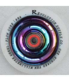 Revolution Neo Chrome Full Core Wheel White 110mm