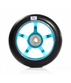 Logic 6 Spoke Classic Scooter Wheel Black/Blue 110mm