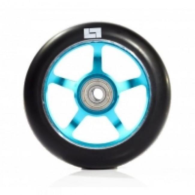 Logic 6 Spoke Classic Scooter Wheel Black/Blue 110mm