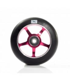 Logic 6 Spoke Classic Scooter Wheel Black/Red 110mm