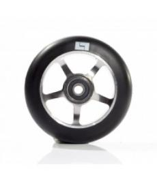 Logic 6 Spoke Classic Scooter Wheel Black/Raw 110mm