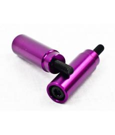 Grit Slimline Scooter Pegs Purple