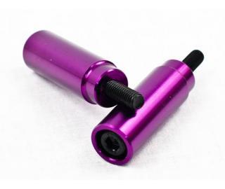 Grit Slimline Scooter Pegs Purple