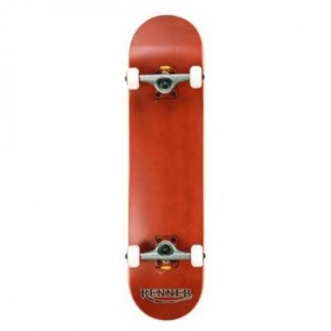 Renner Pro Series Complete Skateboard Red