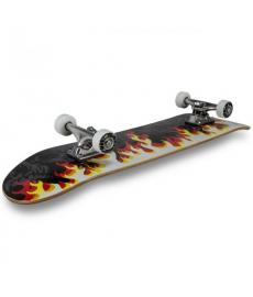 MGP Gangsta Series Complete Skateboard On Fire