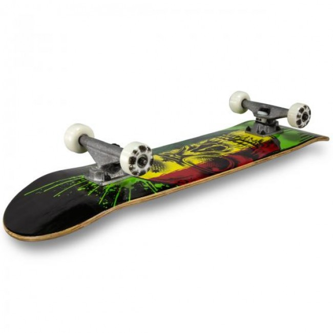 MGP Honcho Series Complete Skateboard Rasta