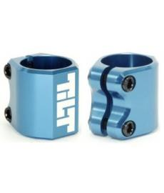 Tilt Double Clamp Blue