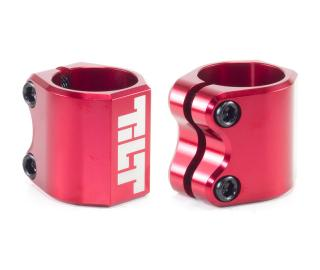 Tilt Double Clamp Red