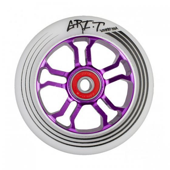 Grit Ultra Light Scooter Wheel Purple 100mm