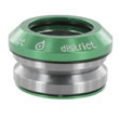 District - Integrated Anodized - V2 Green +£24.95