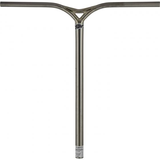 Components & Replacement Parts Scooters YGW Millenium Titanium Oversized SCS Scooter Bars Raw 660mm