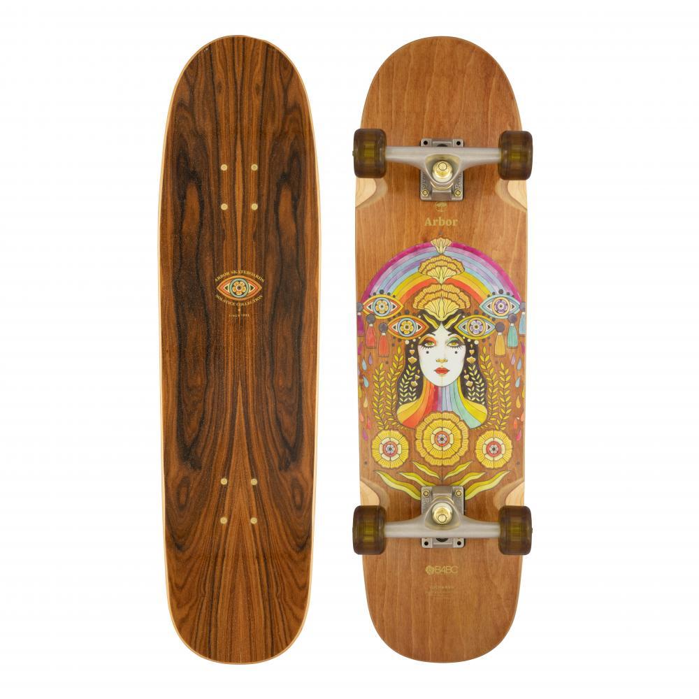 Arbor Solstice B4BC Cucharon Cruiser Skateboard 32.375 2021