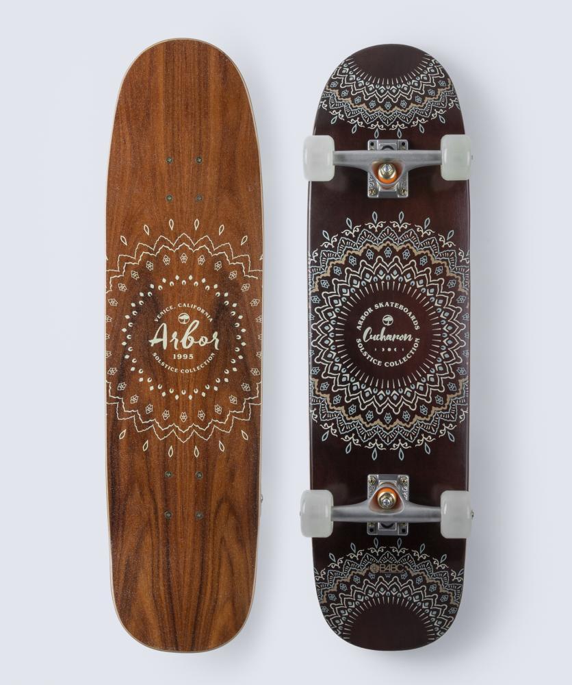 Arbor Solstice B4BC Cucharon Cruiser Skateboard 32.375