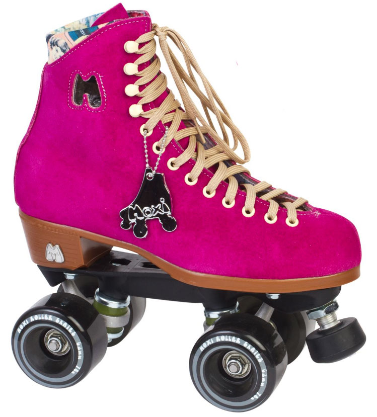 Moxi Lolly Fuschia Quad Roller Skates