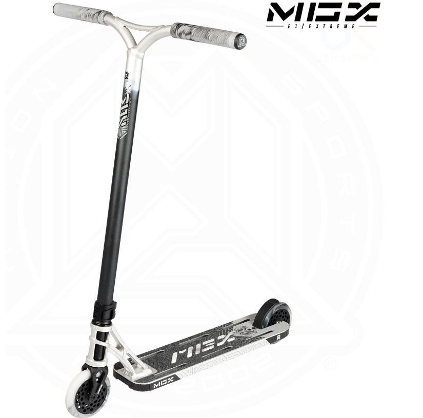 MGP MGX E1 Extreme 5.0 Stunt Scooter Silver/Black