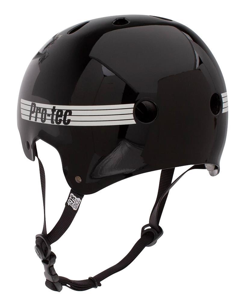 ProTec Old School helmet Gloss Black Small Adults