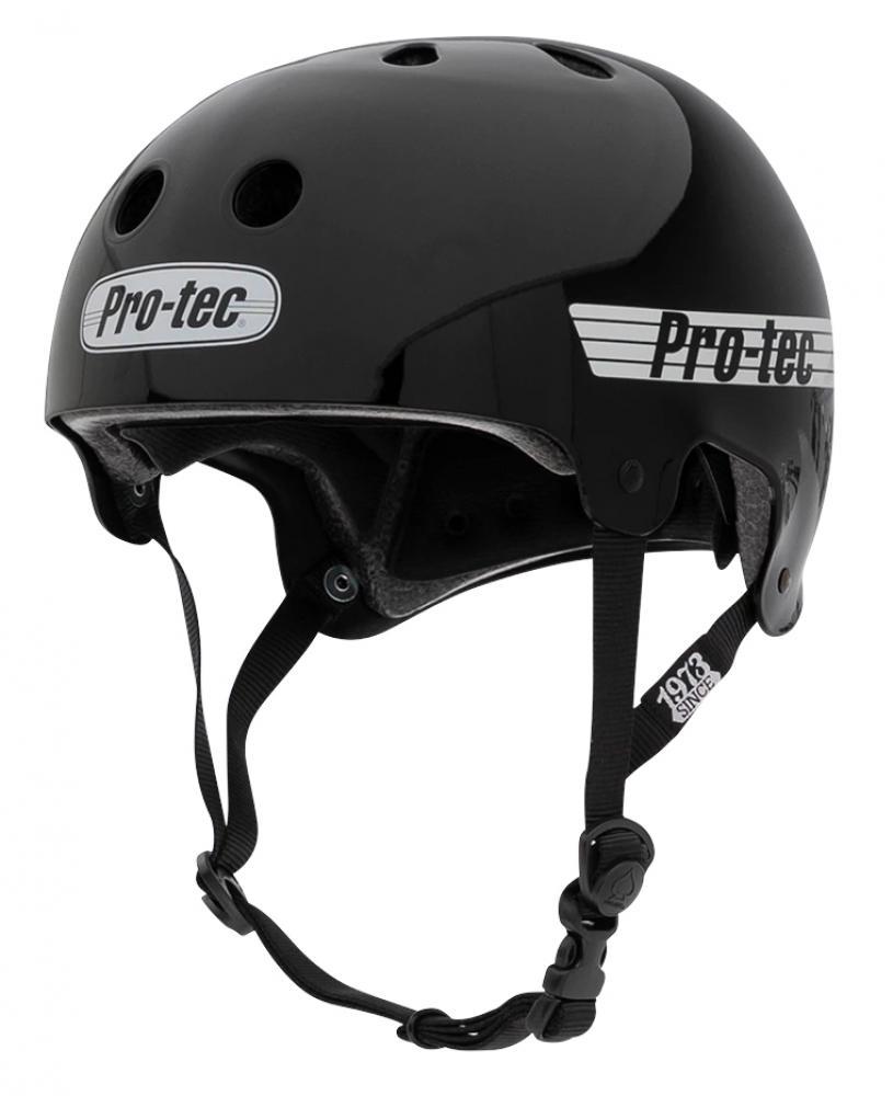 ProTec Old School helmet Gloss Black Large Adults
