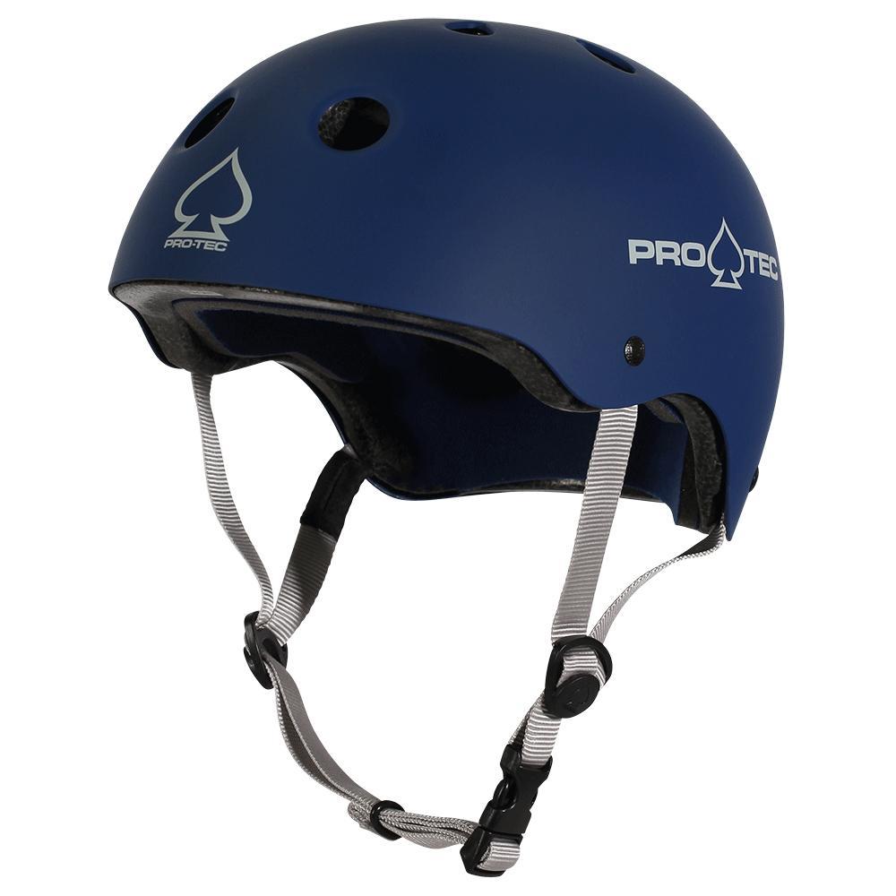 Protec Classic Certified Helmet Matt Blue Medium