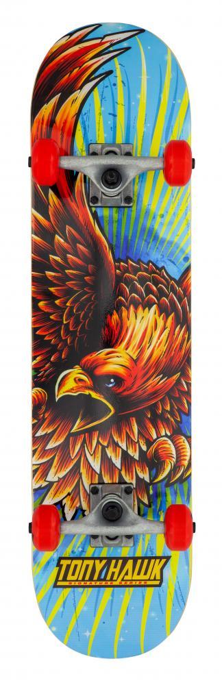"""Skateboards Tony Hawk 180 Series Golden Hawk Complete Skateboard 7.75"""""""