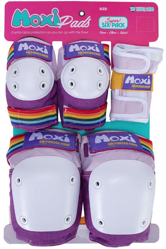 187 Killer Pads 6 Pack Combo Moxi Lavender S/M