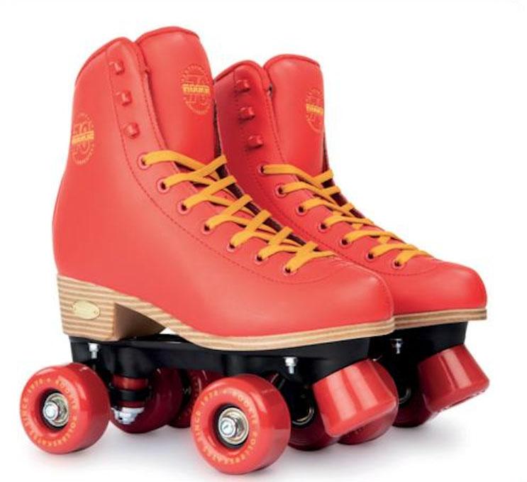 Rookie Classic 78 Quad Roller Skates Red